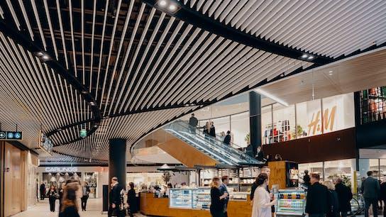 FI, Tripla, Helsinki, Arkkitehdit Soini & Horto, Sweco Architects Oy, Retail, Industrial black, A-edge, 1800x1200, Black