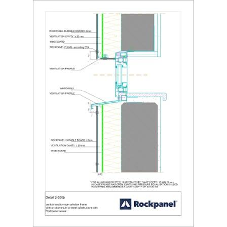 Rockpanel CAD drawing 2-350b