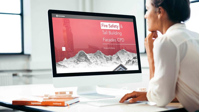 Fire safety and tall building facades - on-demand CPD