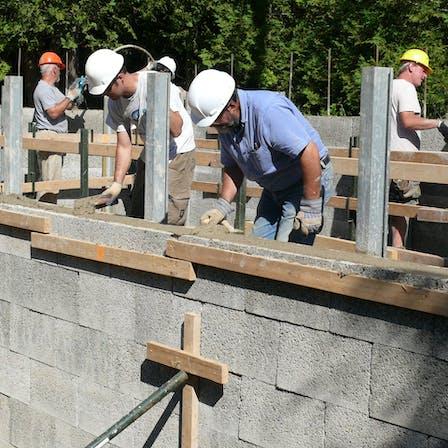 Construction, building, concrete, wall, insulation