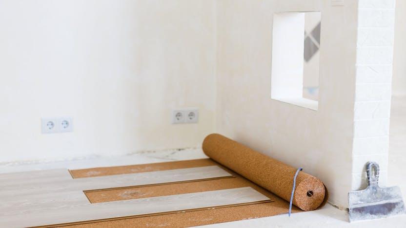 flat roof, application, header, floating floor