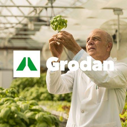Grodan logo and image