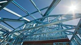 Steel frame building/construction