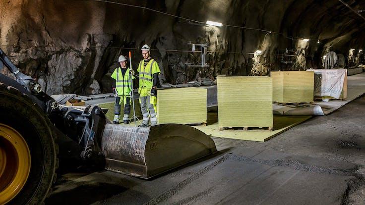 case study, Citybanen Stockholm, train tunnel, sweden, trains, tracks, rockdelta, lapinus