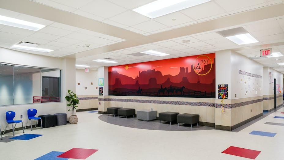 NA, PISD, Mae Smythe Elementary School, GPD Group, Tropic, Chicago Metallic 1200
