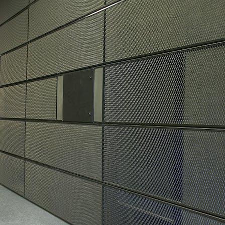 parafon, tiles, buller mesh, project, tuasbuilding, aalto university, espoo