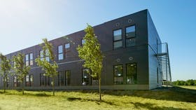 Office building Energinet (by Mobilhouse) in Denmark cladded with Rockpanel Structures facade cladding