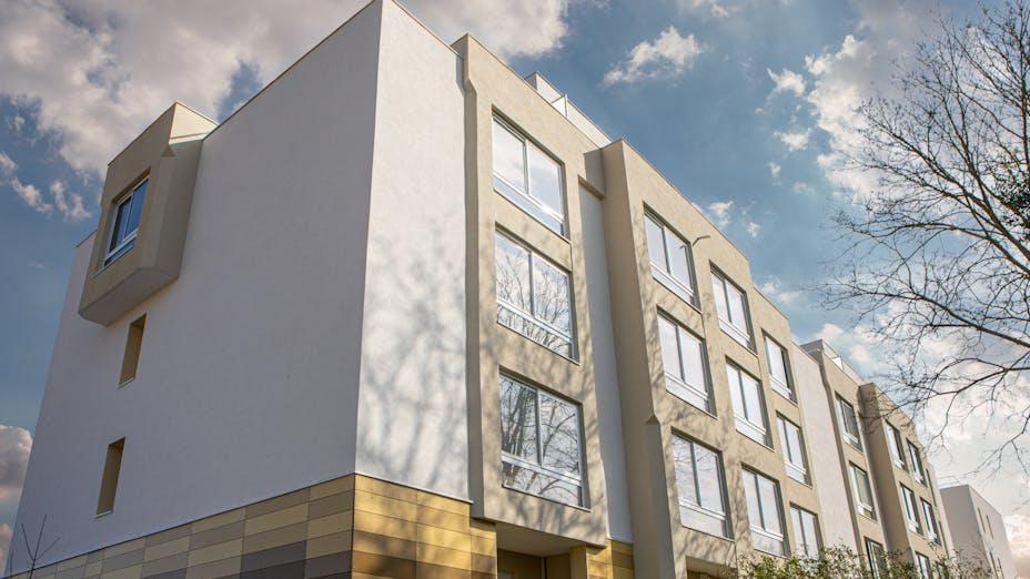 Renovation of 'Résidence saint germain' Case study Rockpanel colours