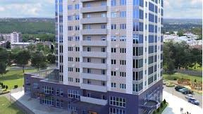 New building, residential complex, insulation, Dostoyanie, Stavropol, Russia