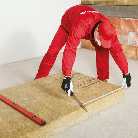 pitched roof, how to insulate, step 2