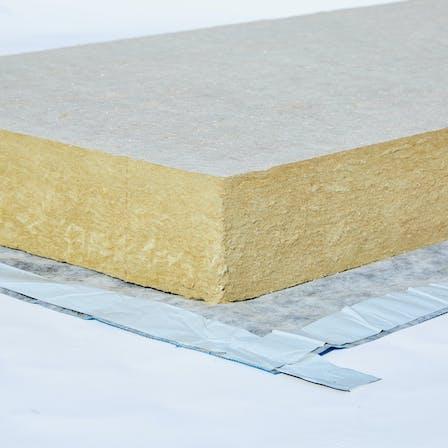 masterrock, kaschierung, glasvlies, unterseitig, dachdämmung, schrägdach, lamination, glass mat, underside, roof insulation, pitched roof, presse, germany, presse, press