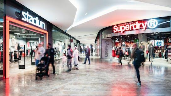 article illustration, Finland, Redi mall, shopping mall, Rockfon Mono Acoustic
