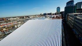 flat roof, flatroof, metal roof, metalroof, metalldach, prodach, prorock, germany, 118 4068 Behrendt und Rausch