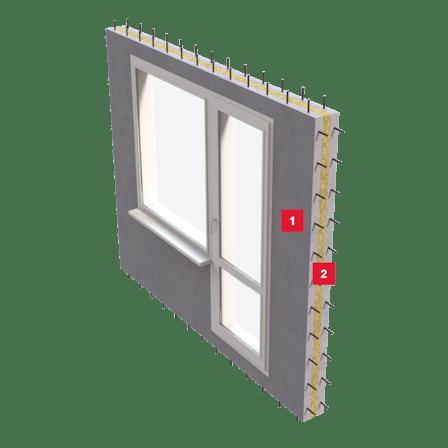 sandwich panels, insulation