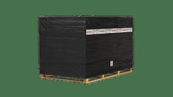 CONLIT PLUS 60/120 ALU, magnesium hydroxide with aluminium foil facing. CONLIT PLUS System components, fire protective insulation, pallet, CONLIT 150, slabs with aluminium foil facing, insulation of steel or concrete structures