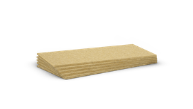 Mono density, high density stone wool slab. Products: Rocksol 501, Rocksol 525, Rocksate Contorno, Panel 231, Floorrock, Steprock