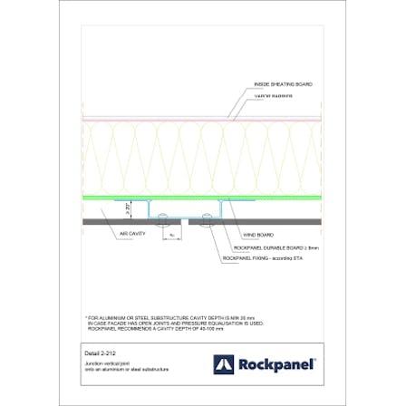 Rockpanel CAD drawing 2-212
