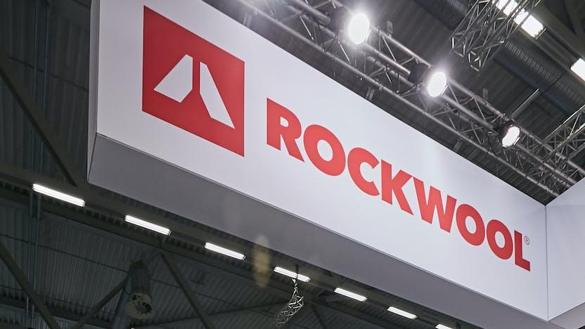 rockwool, logo, logo photo, fair, germany