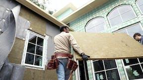 Comfortboard, external insulation, install, construction, exterior, home, wall
