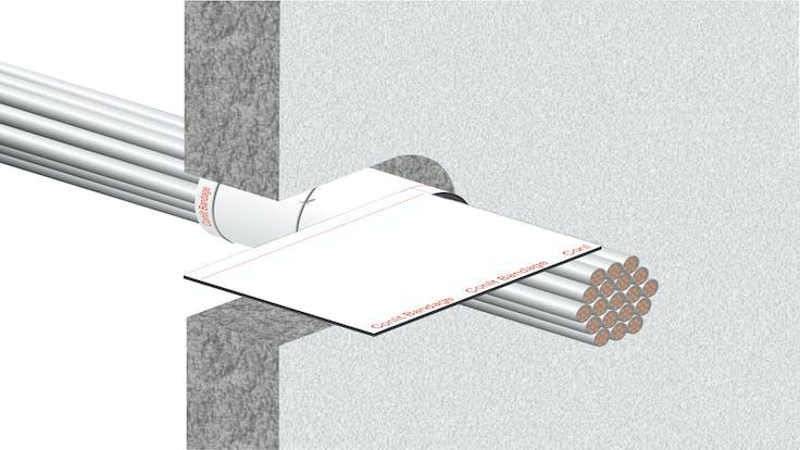illustration, hvac, conlit bandage, step 3/5, germany