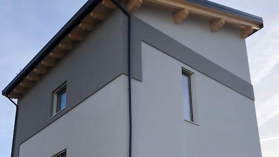 Residential building in Ovindoli (Aq - Italy) Xlam + REDArt