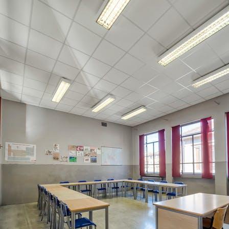 IT, Liceo Statale Carlo Tenca, Milano, Province of Milan, Education, Blanka Activity, A edge, 600x600x40, White
