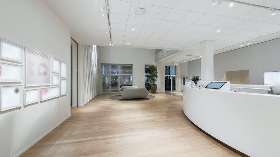 DK, Pandora, Office, Rockfon Blanka, E edge, 600x600, white