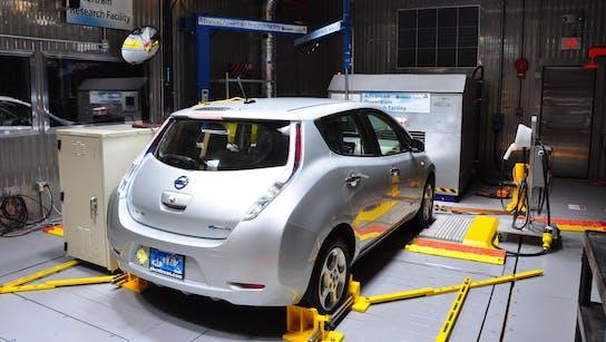 car electric ev friction automotive test