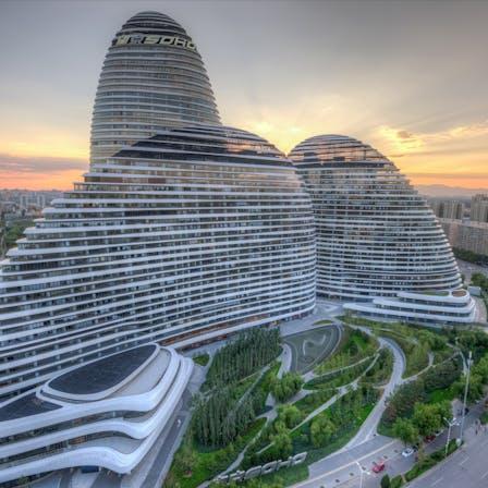 Wangjing SOHO, Thermal Properties