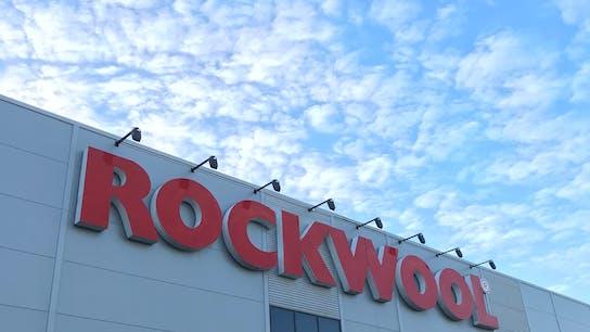 Rockwool, Eskilstuna, Sweden, factory, outside