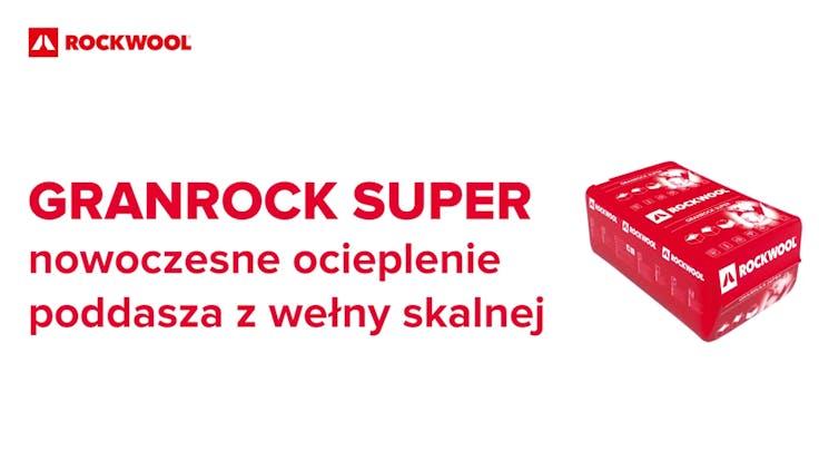 GRANROCK SUPER, Stolpiak, granulate, installation, attic