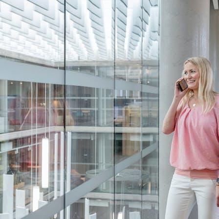 NO, Lysgården, Trondheim, HUS Arkitekter, Office, People, Employees, Meeting, Talking
