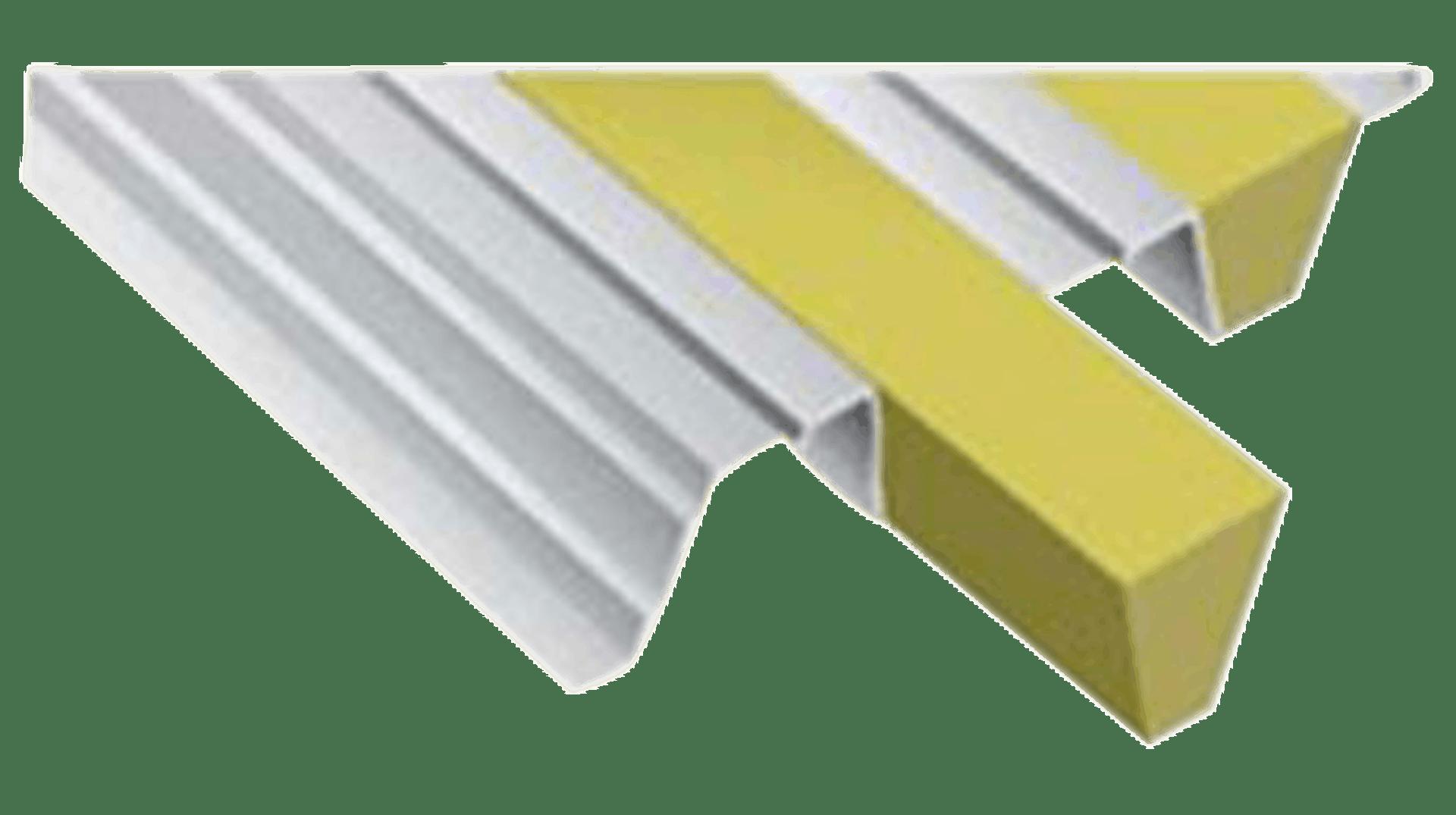 Product picture, Lydabsorpsjonsstaver, Trapetsstav