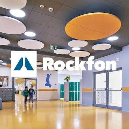 Rockfon, logo and image