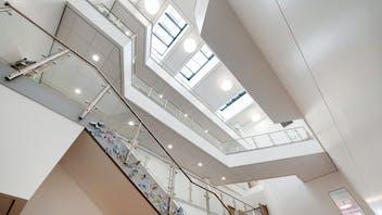 UK, Laurus Didsbury School, Manchester, Pozzoni, Education, Rockfon Tropic, A-edge, 600x600, White, 2890, Corridor