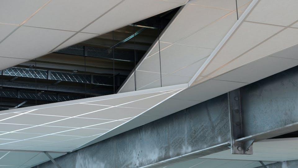 Acoustic ceiling solution: Rockfon® Tropic™, A, 600 x 600