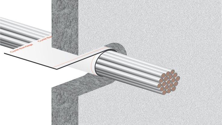 illustration, hvac, conlit bandage, step 2/5, germany