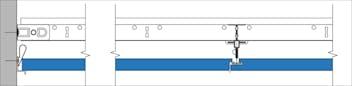Fusion-Perimeter finish with alu wall angle trim
