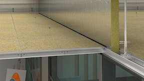 Acoustic Barriers with Rockfon Soundstop barrier (reduces noise transfer)