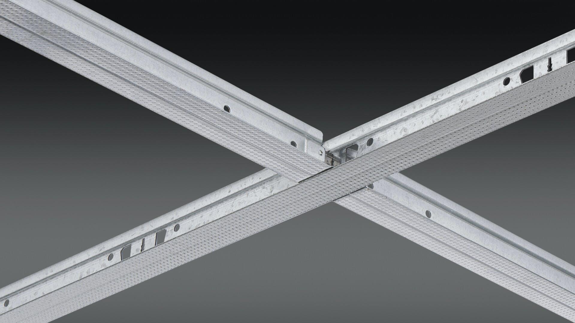 IMG_Rockfon_Chicago Metallic 640 Drywall Grid